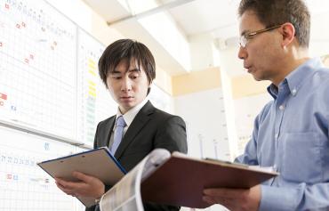 安心.4 自慢の職人+二重チェック管理体制で品質を保持