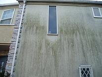 もうひとつ、モルタルの壁傷みやすい箇所をお伝えします。