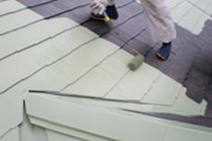 屋根(中塗り)